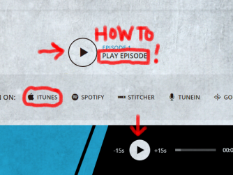 How to play podcast