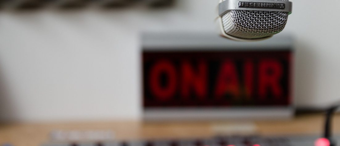 recording studio on air