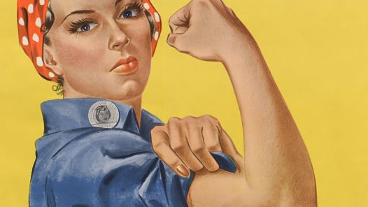 Rosie the riveter - We can do it!