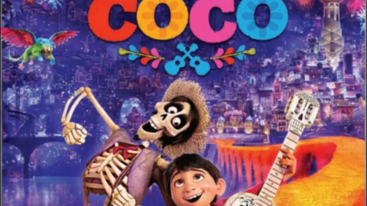A poster for the movie Coco