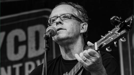 Mike Ward playing guitar