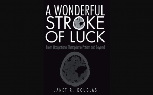 A wonderful stroke of luck, with brain MRI image