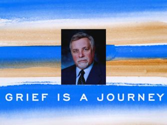 """Author and grief expert Dr. Ken Doka and his book background, """"Grief is a Journey"""""""