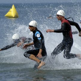 IronMan athletes