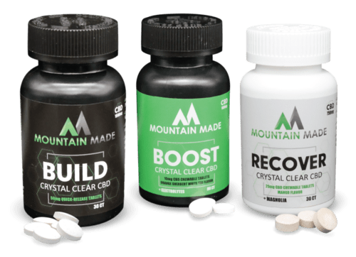Mountain Made CBD products