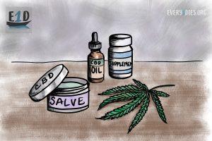 marijuana and CBD products