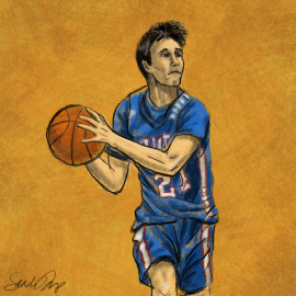 """A basketball player. In his blog """"Play all the Seniors"""" Chris Sperry talks about the end game"""